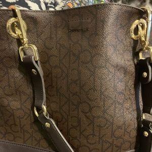 Calvin Klein reversible purse